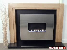 Traditional style flueless gas fire
