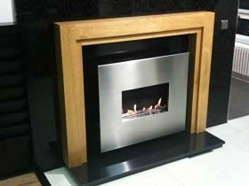 CORONA  Traditional Flueless Gas Fire