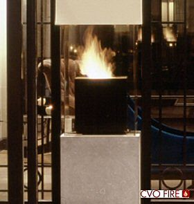 Fireplace image gallery cvo fire for Hotel amsterdam cube