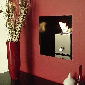 Geometrix Cube Gas fire