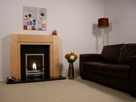 Bailey high efficiency inset gas fire glass fronted Fireplace ideas no fire