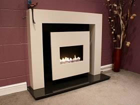 KIAH Traditional Flueless Gas Fire