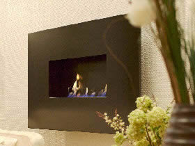 Lucent Wall Hung Bioethanol fireplace