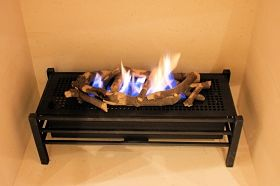 Gas Fire Burner Tray