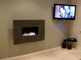 FIRE LINE FLUELESS GAS FIRE BY CVO