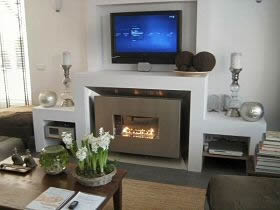 recessed flueless gas fire