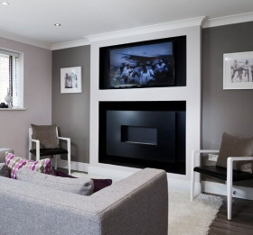 open flame flueless gas fire
