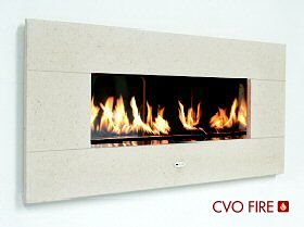 FIRE RIBBON Hole In The Wall Gas Fireplace Ribbon Burner