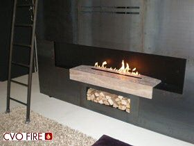 gas fireplace burner
