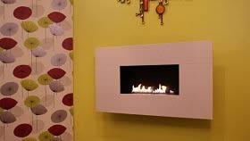 ANGEL FLUELESS GAS FIRE