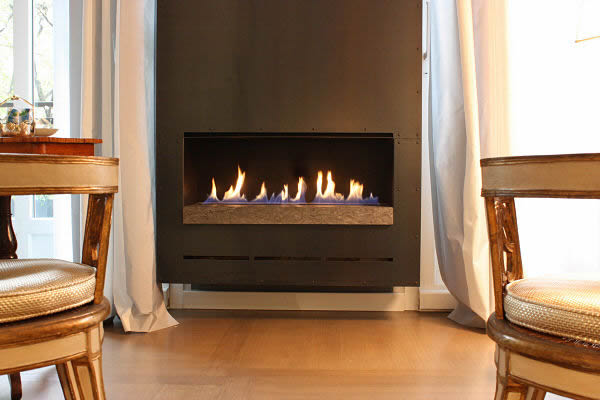 BESPOKE FIRE RIBBON INSTALLED IN ITALIAN VILLA