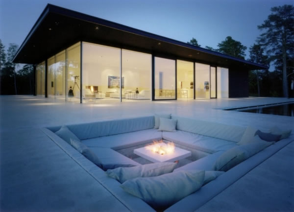Outdoor Fireplaces Outdoor Heating Solutions Contemporary