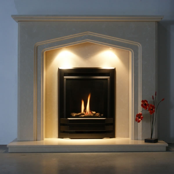 high efficiency inset gas fire