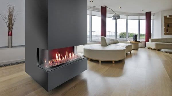 Balanced Flue Glass Fronted High Efficiency Gas Fire