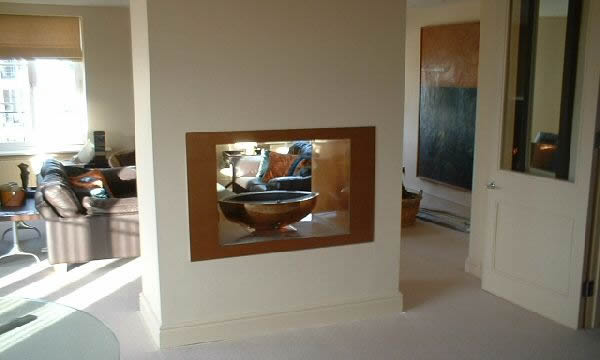 Double Sided Fireplace Double Sided Fires 2 Sided See