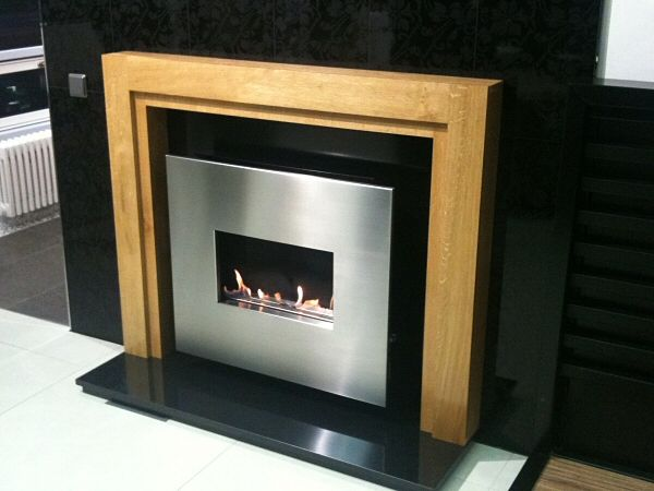 Oak Flueless Fire