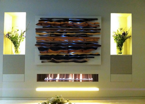 hole in the wall large contemporary fire ribbon