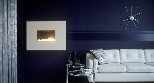 Hang on the wall fireline flueless gas fire