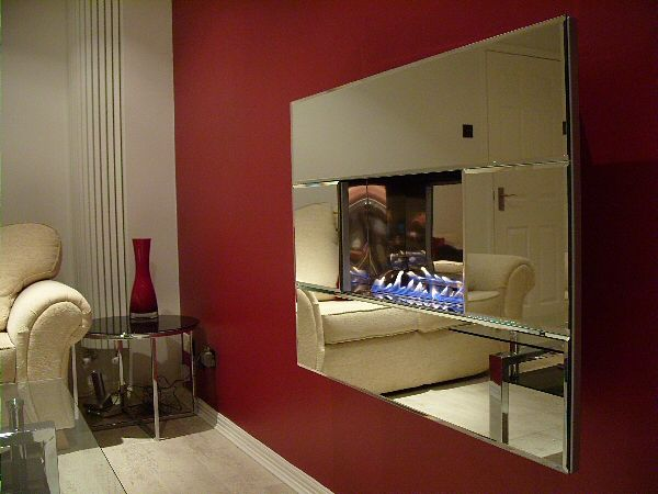 4 pc mirror fireline highly polished interior