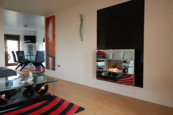 Mirror Flueless Fire
