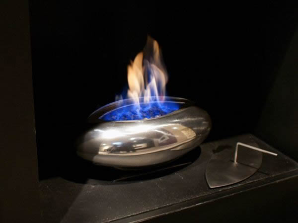 Bio Ethanol Fire Vessel Burner Available In Bronze Or
