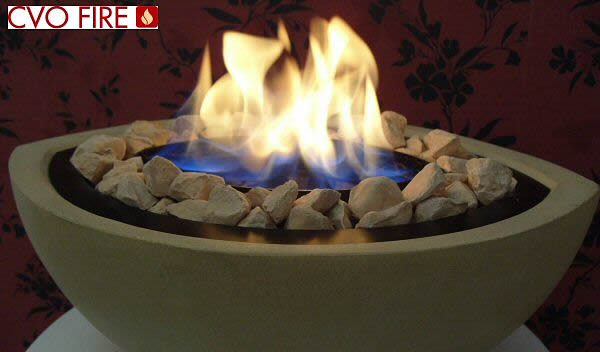 Gel Fire Bowl, Outdoor Stone Firebowl - Image Gallery - cvo.co.uk