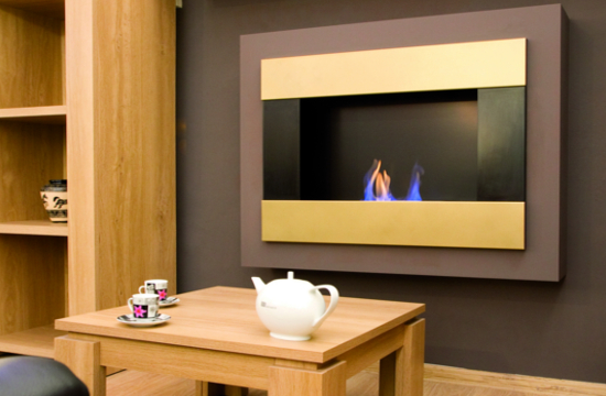 Wall Mounted Bio ethanol Fire