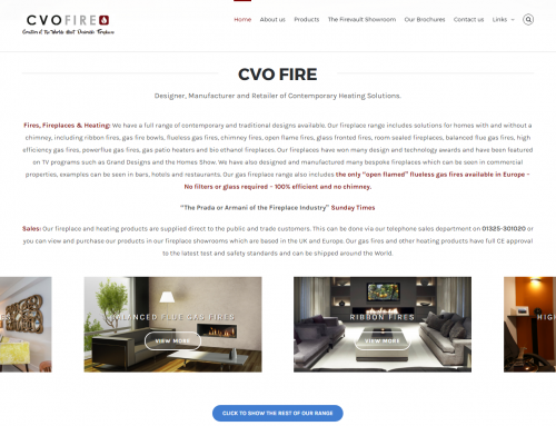 New CVO Website Launch
