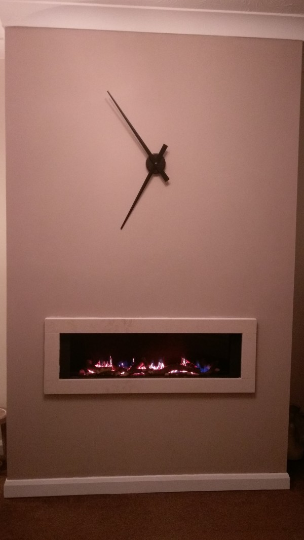 FR920 High Efficiency Gas Fire Customer Installation