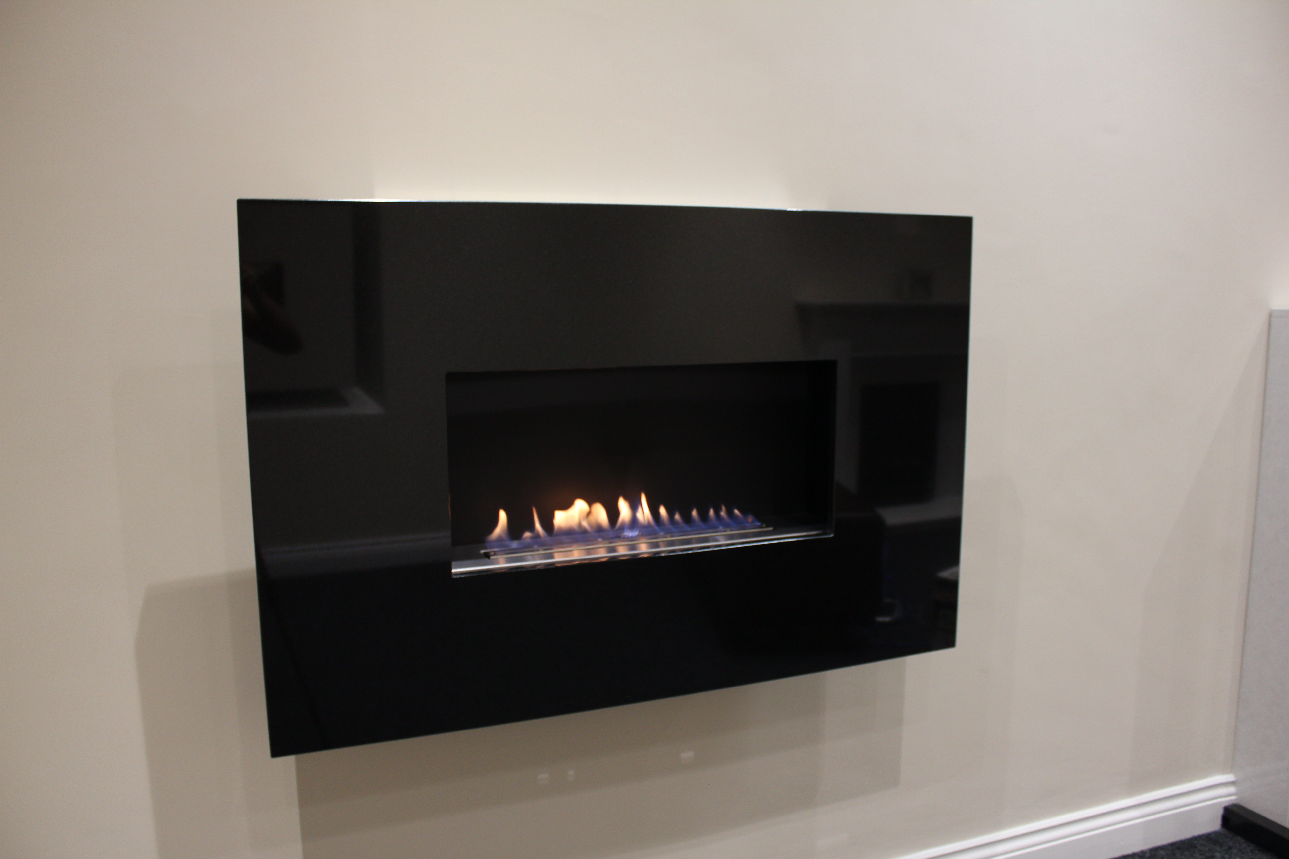 Contemporary Flueless Gas Fires With Beautiful Open Flame