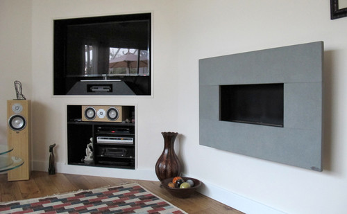 Serena Gray Moderno Flueless Gas Fire