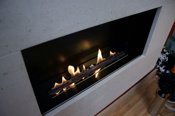 Moderno Flueless Gas Fireplace