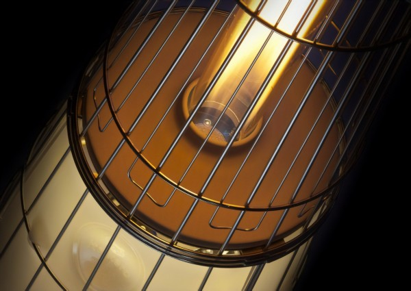 Lightfire Glass Tube Outdoor Patio Heater