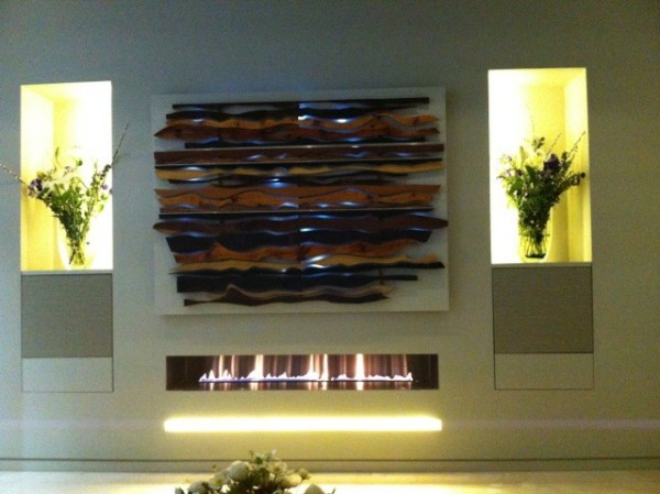 1500mm Fire Wave Gas Fire