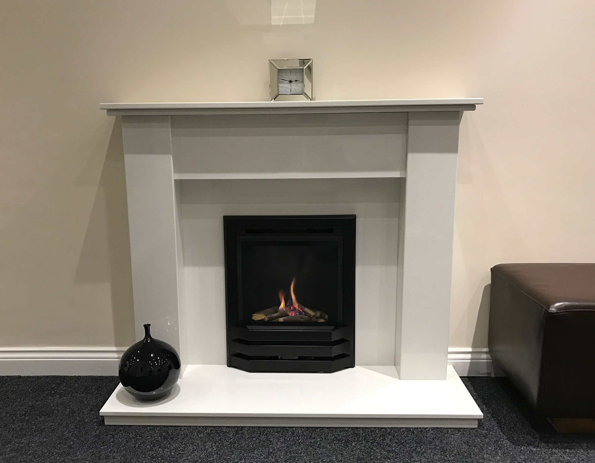 Bailey high efficiency inset for Fireplace surrounds for gas fires