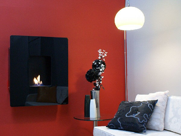 Azar Flueless Gas Fire Wall Mounted