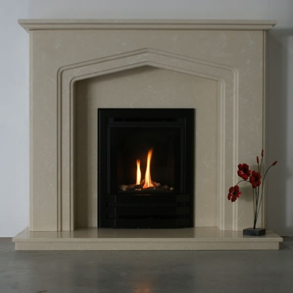 Bailey Inset Gas Fire With Log Decor