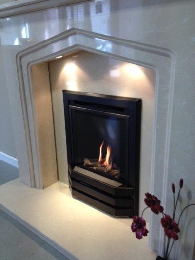 Bailey High Efficienct Gas Fire with Log