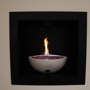 Small Oval Gas Firebowl