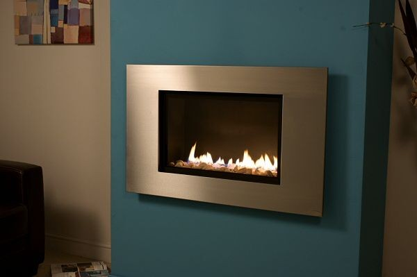 FR600 High Efficiency Stainless Steel Fascia Fire