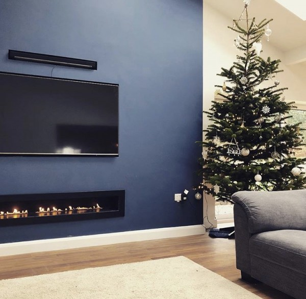 Fire Wave Customer Installation With TV Above