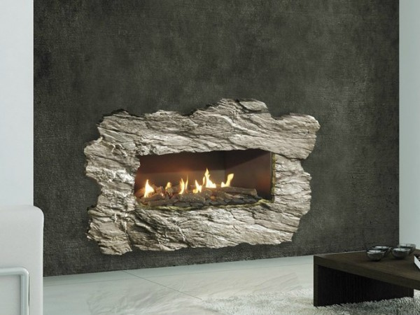 Focus Gas Burner Built In Wall