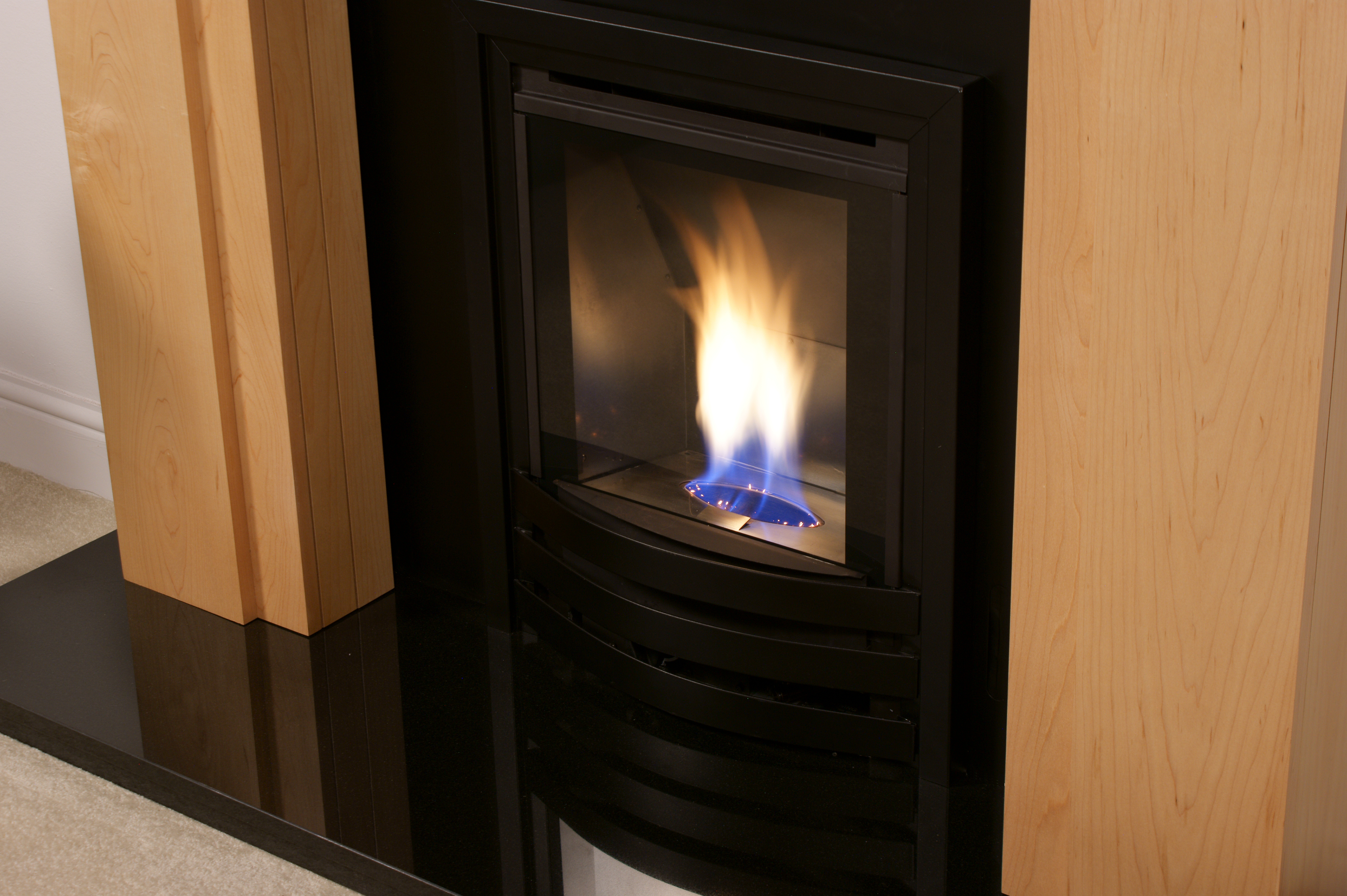 high efficiency wood burning fireplace. Glamour High Efficiency Inset Gas Fire Wood Burning Fireplace
