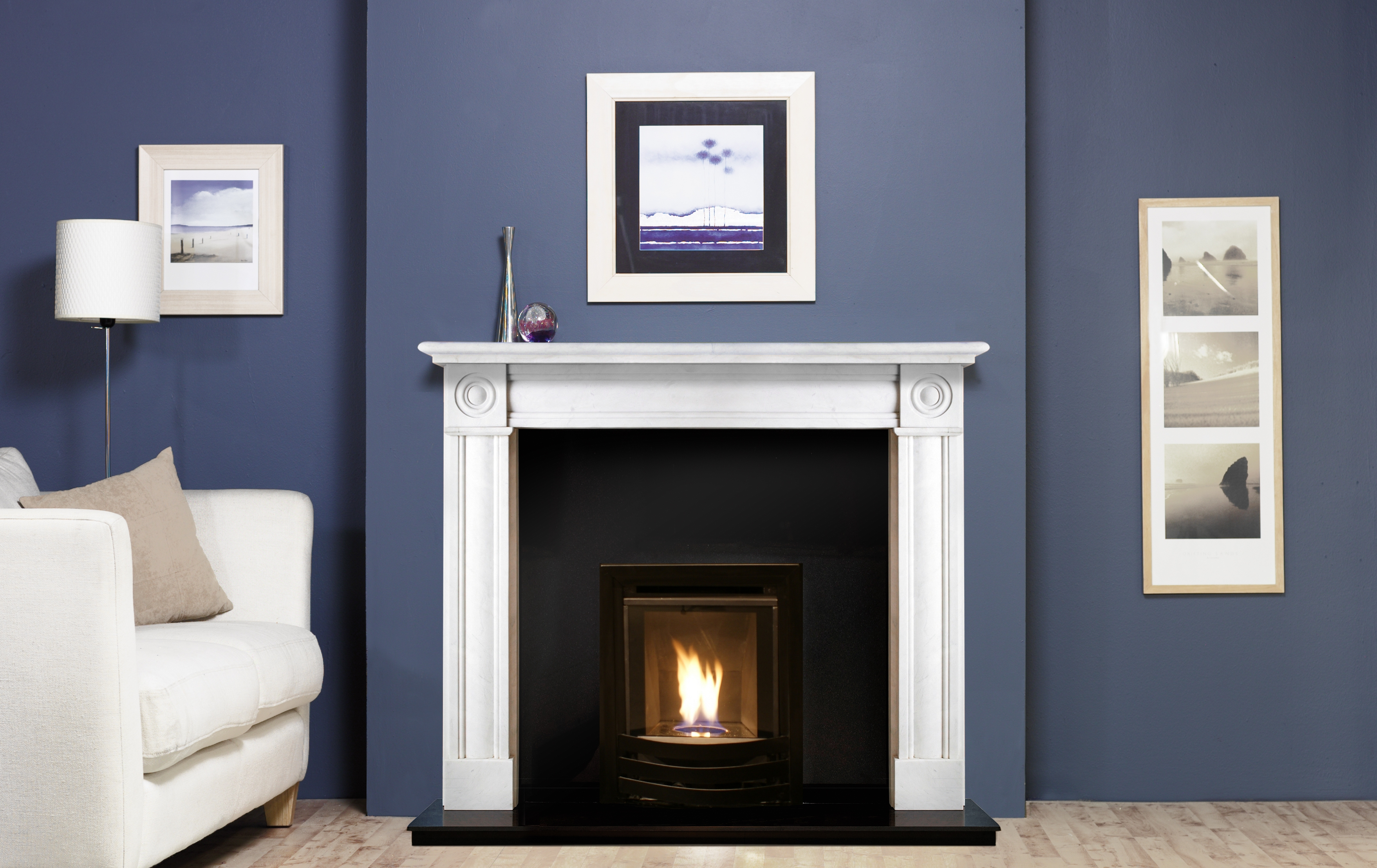 Glamour High Efficiency Inset Gas Fire Image