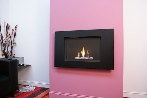 Kokoto HE Wall Mounted Fireplace
