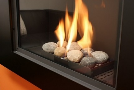 Kokoto High Efficiency Gas Fire Flame Pebbles