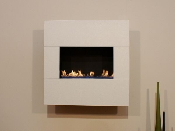 Standard Size Wall Mounted Flueless Gas Fire