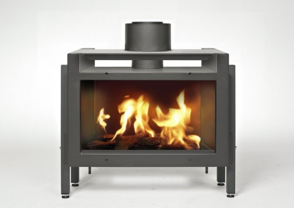 Portofino 50 With Logs Balanced Flue