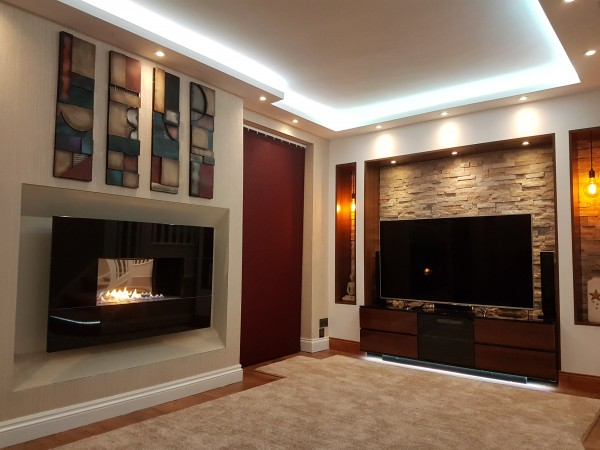 Recessed Classico Flueless Gas Fire Install