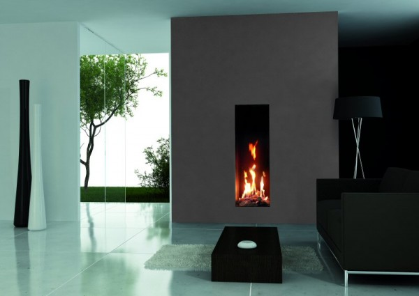 Roma 50 tall balanced flue gas fire high efficiency